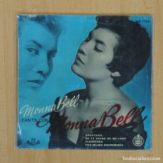 Discos de vinilo: MONNA BELL - ANASTASIA + 3 - EP. Lote 85825242