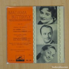 Discos de vinilo: MADAMA BUTTERFLY - EP. Lote 85825807