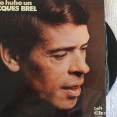 Discos de vinilo: LP JACQUES BREL-SOLO HUBO UN . Lote 85827036