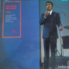 Discos de vinilo: LP GILBERT BECAUD-TOUJOURS BECAUD. Lote 85827208