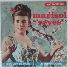 Discos de vinilo: MARISOL REYES - VOY DE PASO / ACROPOL. Lote 85875212