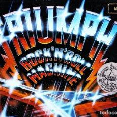 Discos de vinilo: TRIUMPH. 12 LPS VINILO. HEAVY METAL CANADIENSE DE LOS 80. Lote 85880708