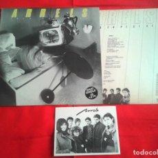 Discos de vinilo: ARRELS - ERES ESPECIAL (ACUARIO) 1984 - INCLUYE ENCARTE Y POSTAL INFORMATIVA. Lote 85900108
