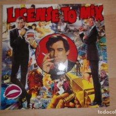 Discos de vinilo: JAMES BOND LICENSE TO MIX 1989 MUY DIFICIL. Lote 85908652