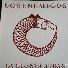 Discos de vinilo: LP LOS ENEMIGOS: LA CUENTA ATRÁS. Lote 85909216