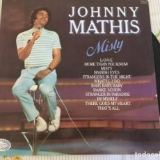 Discos de vinilo: LP JOHNNY MATHIS-MISTY. Lote 85911444