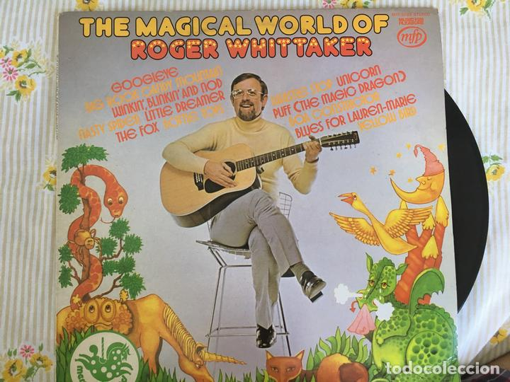 LP ROGER WHITTAKER-THE MAGICAL WORLD OF.. (Música - Discos - LP Vinilo - Cantautores Extranjeros)