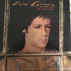 Discos de vinilo: LP ERIC CARMEN-BOATS AGAIN THE CURRENT. Lote 85913564
