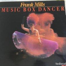 Discos de vinilo: LP FRANK MILLS-MUSIC BOX DANCER. Lote 85916108