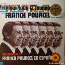 Discos de vinilo: FRANCK POURCEL - DOBLE LP. Lote 85918520