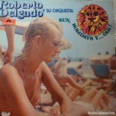 Discos de vinilo: ROBERTO DELGADO Y SU ORQUESTA DOBLE LP. Lote 85919392