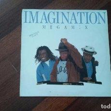Discos de vinilo: IMAGINATION-MEGAMIX.MAXI ESPAÑA. Lote 85923720