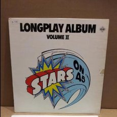 Discos de vinilo: STARS ON 45. LONGPLAY ALBUM. VOLUME II. MAXI-SG / CNR - 1981 / MBC. ***/***. Lote 85927240