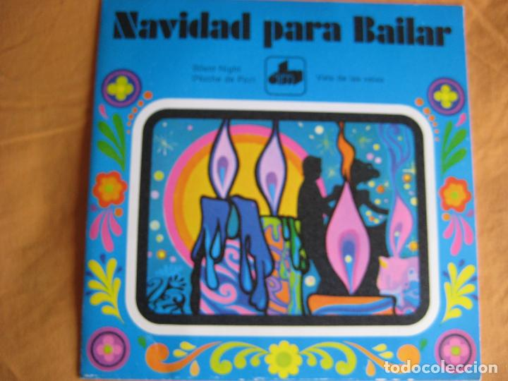 NAVIDAD PARA BAILAR SG DIM 1971 SILENT NIGHT +1 EASY LISTENING JAPON - FLORAL POPS 70 - (Música - Discos - Singles Vinilo - Country y Folk)