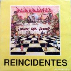 Disques de vinyle: REINCIDENTES - ABSENTISMO LABORAL - SINGLE 2 TEMAS. 1993.. Lote 119094070