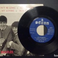 Discos de vinilo: BEATLES, ODEON DSOE 16.577, IT WON'T BE LONG, ALL MY LOVING, DON'T BOTHER ME, ALL I'VE GOT TO DO 196. Lote 85945296