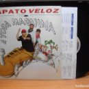 Discos de vinilo: ZAPATO VELOZ A TODA MÁQUINA (HORUS 1994) LP CON ENCARTES ASTURIAS. Lote 85947084