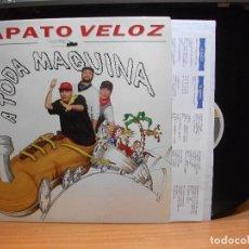 Discos de vinilo: ZAPATO VELOZ A TODA MÁQUINA (HORUS 1994) LP CON ENCARTES ASTURIAS PEPETO. Lote 85947084