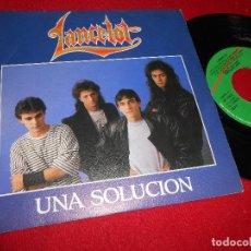 Discos de vinilo: LANCELOT UNA SOLUCION/DESDE LA GRADA 7'' SINGLE 1989 VIRGIN PROMO EDICION ESPAÑOLA SPAIN. Lote 85971876