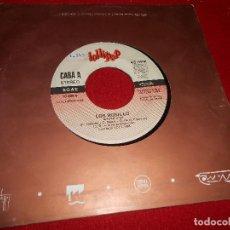 Discos de vinilo: LOS ROSILLO SHINE/DE UNA A OTRA ESTACION 7'' SINGLE 1988 LOLLIPOP PROMO EDICION ESPAÑOLA SPAINDISCO . Lote 85972076