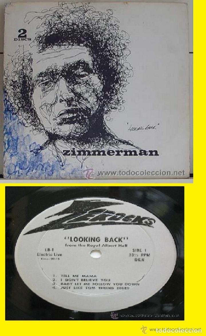 BOB DYLAN / LOOKING BACK, DUBLIN 1962-63 / DOBLE LP NO OFICIAL / PRENSAJE PRIVADO !! COLLECTORS !!!! (Música - Discos - LP Vinilo - Cantautores Extranjeros)