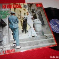 Discos de vinilo: GRAN ORQUESTA SINFONICA DIR. ATAULFO ARGENTA LA REVOLTOSA LP 1984 COLUMBIA EDICION ESPAÑOLA SPAIN. Lote 85977528