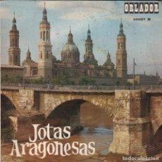 Dischi in vinile: JOTAS ARAGONESAS - ENCARNITA RODRIGUEZ CON RONDALLA / EP ORLADOR DE 1967 RF-2356. Lote 85981164
