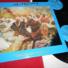 Discos de vinilo: AL-AZRAQ 2LP 1981 BCD GATEFOLD EDICION ESPAÑOLA SPAIN ALCOY ALICANTE. Lote 85985076