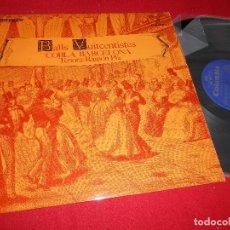 Discos de vinilo: BALLS VUITCENTISTES COBLA BARCELONA TENORA RAMON PLA LP 1969 COLUMBIA EDICION ESPAÑOLA SPAIN. Lote 85985732