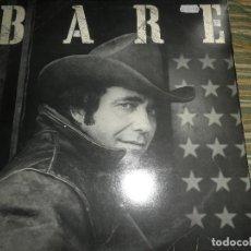 Discos de vinilo: BOBBY BARE - BARE LP - ORIGINAL INGLES - CBS RECORDS 1978 - STEREO -. Lote 85990364