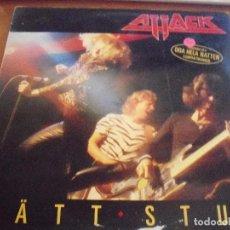 Discos de vinilo: LP DE ATTACK, RÄTT STUK. EDICION CBS DE 1981 (HOLANDA). CON ENCARTE.. Lote 86006772