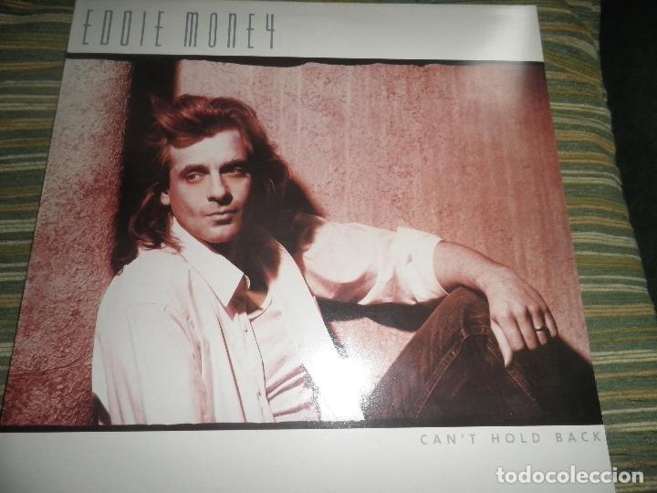 EDDIE MONEY - CAN´T HOLD BACK LP - ORIGINAL HOLANDA - CBS 1986 CON FUNDA INT. ORIGINAL MUY NUEVO(5) (Música - Discos - LP Vinilo - Pop - Rock - New Wave Extranjero de los 80)