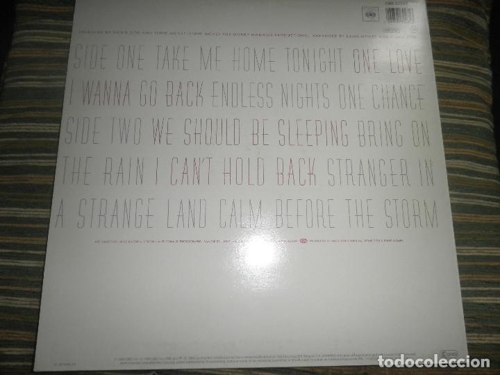 Discos de vinilo: EDDIE MONEY - CAN´T HOLD BACK LP - ORIGINAL HOLANDA - CBS 1986 CON FUNDA INT. ORIGINAL MUY NUEVO(5) - Foto 2 - 86008464
