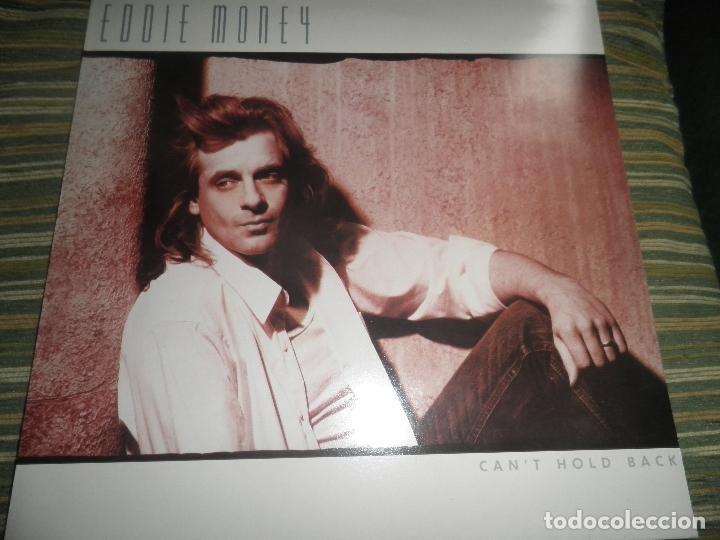 Discos de vinilo: EDDIE MONEY - CAN´T HOLD BACK LP - ORIGINAL HOLANDA - CBS 1986 CON FUNDA INT. ORIGINAL MUY NUEVO(5) - Foto 11 - 86008464