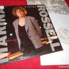 Discos de vinilo: MARINA ROSSELL CINEMA BLAU LP 1990 EPIC EDICION ESPAÑOLA SPAIN. Lote 86010568