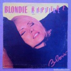 Discos de vinilo: BLONDIE :RAPTURE/LIVE IT UP. (1981) CHRYSALIS/SPAIN. Lote 86013248