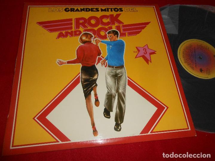 LOS GRANDES DEL ROCK AND ROLL LP 1977 ABC EDICION ESPAÑOLA SPAIN RECOPILATORIO JOHNNY PRESTON + ETC (Música - Discos de Vinilo - EPs - Pop - Rock Extranjero de los 70)