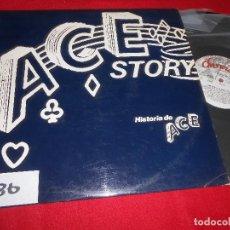 Discos de vinilo: ACE STOY LA HISTORIA DE ACE LP 1980 CHISWICK EDICION ESPAÑOLA SPAIN RECOPILATORIO. Lote 86027476