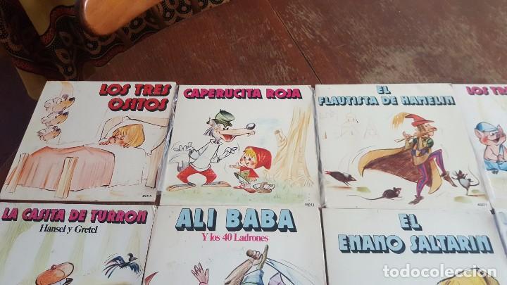 Discos de vinilo: Colección de cuentos infantiles clásicos. - Foto 5 - 86028920