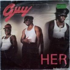 Discos de vinilo: GUY-HER, MCA RECORDS-9031-74340-7, MCA RECORDS-9031-74340-7 LA. Lote 86030564