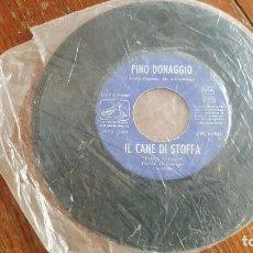 Discos de vinilo: PINO DONAGGIO. COME SINFONIA. IL CANE DI STOFFA. . Lote 86036292
