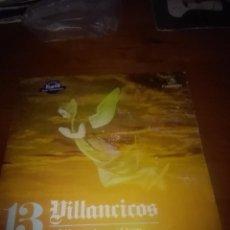 Discos de vinilo: VILLANCICOS CORO Y RONDALLA. A BELÉN PASTORES. EL TREN. MB3. Lote 86036408