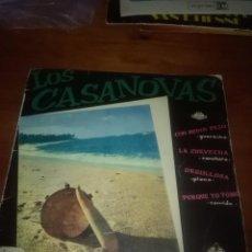 Discos de vinilo: LOS CASANOVAS. , CON MEDIO PESO. MB2. Lote 86038244
