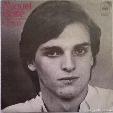 Discos de vinilo: MIGUEL BOSÈ-LINDA , CBS 5086. Lote 86047496
