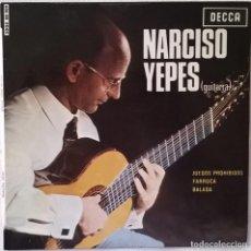 Discos de vinilo: NARCISO YEPES-JUEGOS PROHIBIDOS, DECCA-SDGE 80909. Lote 86051956