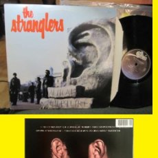 Discos de vinilo: THE STRANGLERS - AURAL SCULPTURE 1984 !! RARE PUNK 1ª EDIC ORG USA !! TODO IMPECABLE. Lote 86069056