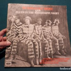 Discos de vinilo: SOLO LA CARPETA !!! -MURDERERS HOME AND IN THE MISSISSIPPI NIGHT- ALAN LOMAX COLLECTION NEGRO FOLK... Lote 86084328