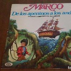Discos de vinilo: MARCO. DE LOS APENINOS A LOS ANDES.. Lote 86094736