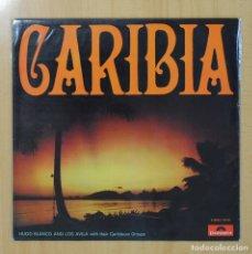 Discos de vinilo: HUGO BLANCO / LOS AVILA - CARIBIA - LP. Lote 289858628