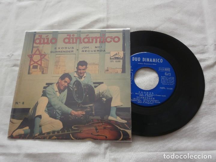 DUO DINAMICO 7 ´EP EXODUS + 3 TEMAS (1961) COMO NUEVO *FIRMADO Y DEDICADO POR EL GRUPO* (Música - Discos de Vinilo - EPs - Grupos Españoles 50 y 60)